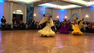 Professional International Ballroom : Waltz –  2016 Snow Ball DanceSport Competition