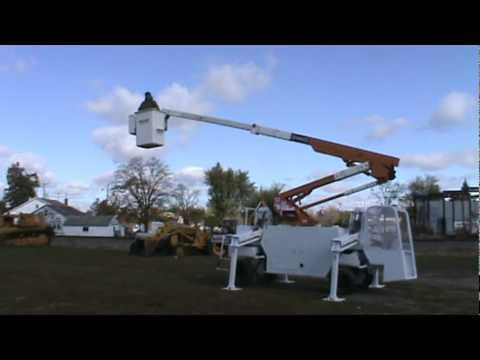 Backyard Lift terex hi-ranger tl38p backyard mini lift bucket 43' boom cat diesel