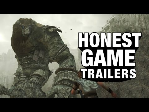 SHADOW OF THE COLOSSUS (Honest Game Trailers)