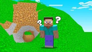 Minecraft BUT EVERYTHING Is ROUND! (So Weird)