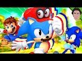 Mario CAPTURES Classic Sonic Gameplay?!