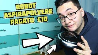 HO TROVATO UN ROBOT ASPIRAPOLVERE A 10 EURO! Conviene?
