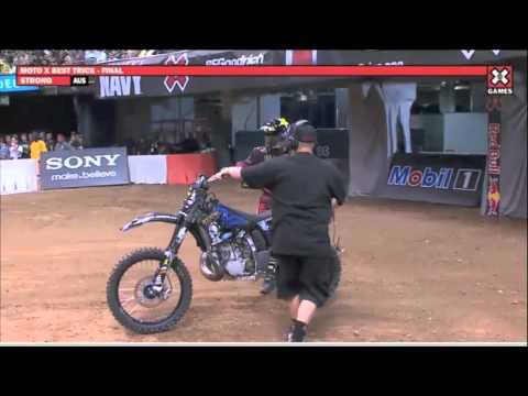 XGames 17 - Moto X Best Trick | Jackson Strong First Front Flip Landed | Wins Gold Medal