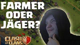 [Facecam] FARMER ODER JÄGER? || CLASH OF CLANS || Let's Play CoC [Deutsch/German HD]