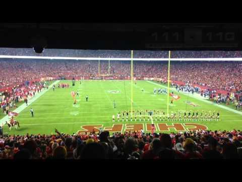 Kansas City Chiefs Fans Celebrate a Touchdown