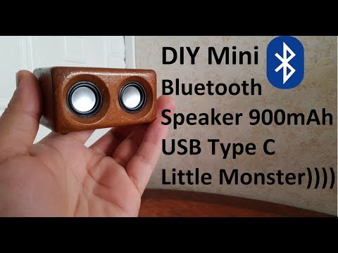 DIY Mini Portable Bluetooth Speaker (Little Monster)Crazy Bass