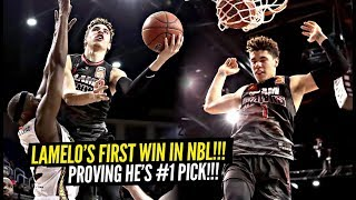 LaMelo Ball Gets FIRST WIN In NBL Throwing CRAZY PASSES!! Best PG In The DRAFT!?