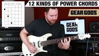 Download 12 Different Kinds of Power Chords | GEAR GODS MP3 song and Music Video