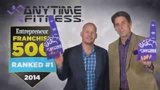 Anytime Fitness Ranked #1 2014 Franchise 500