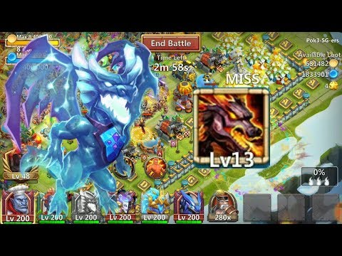 13/13 Lavanica In Action L Castle Clash