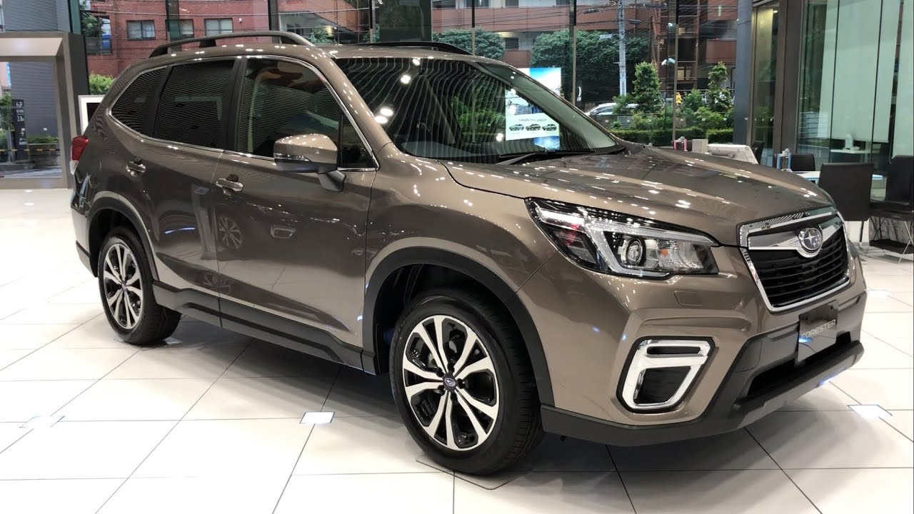 2019 Subaru Forester Premium Debut In Japan スバル 新型