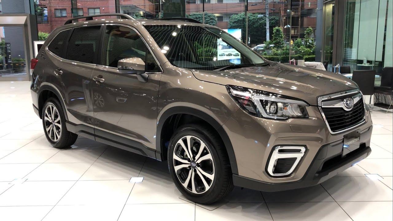 Subaru Forester Premium Debut In Japan