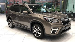 "2019 SUBARU FORESTER ""Premium"" Debut in Japan! I am looking forward to delivering cars!"