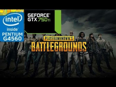 PUBG [PC] GTX 750 Ti 2GB GDDR5 & Intel Pentium G4560