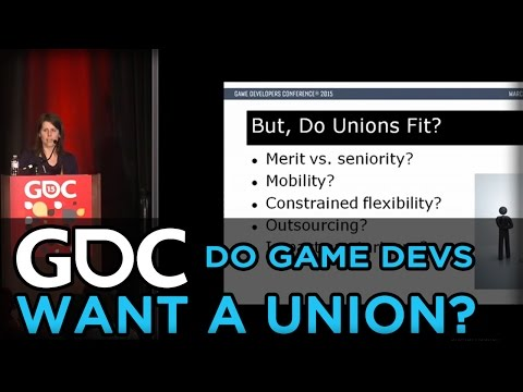 Do Game Developers Want a Union?