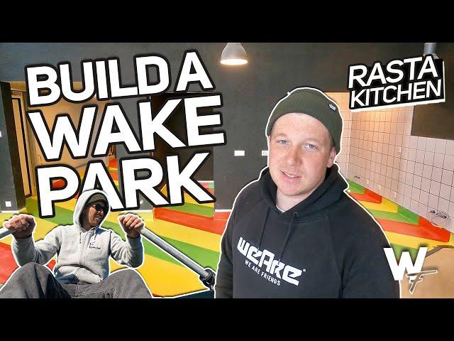 "Bunt, bunter, Boden! ""VORNE BUSINESS - HINTEN PARTY"" Vlog#37 Wakepark Fehmarn"