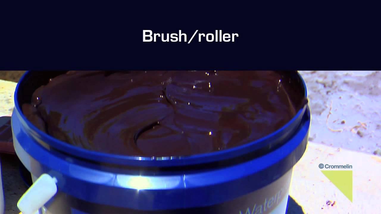 Water Based Bitumen Paint: Waterproofing: Crommelin