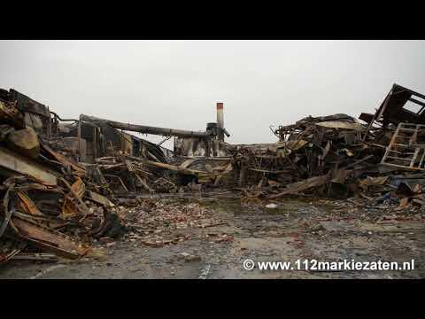 Onderzoek naar grote brand bij Lion Foods in Sint-Maartensdijk