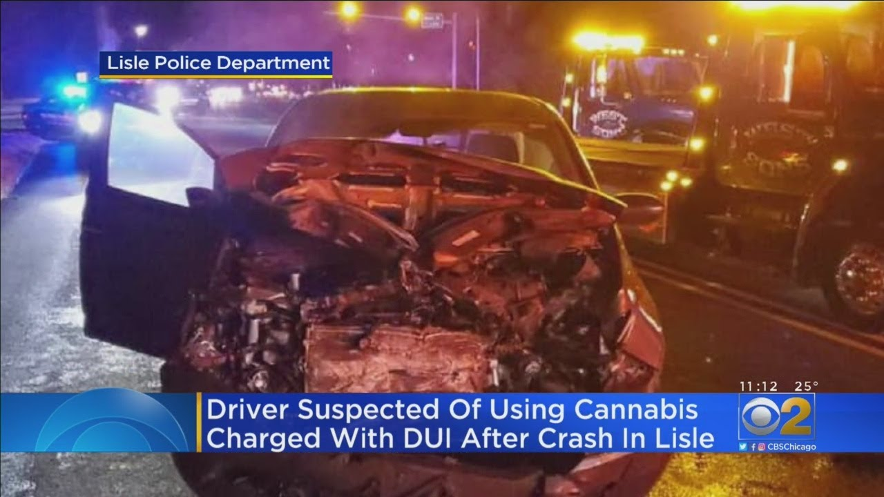 Lisle Crash Blamed On Driver High On Marijuana