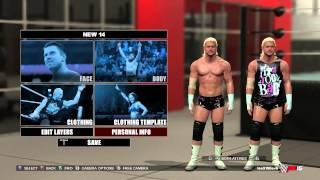 WWE 2k15 How to change Superstar/Diva Attire