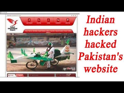 Indian hackers hacked Pakistan's Sailkot airport website | Oneindia News