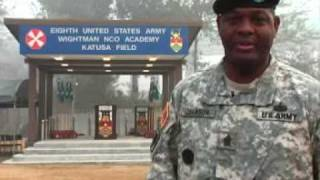 US Army Korea: Command Sergeant Major Tyrone Johnson leaves