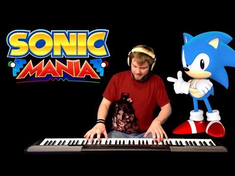 Sonic Mania Opening Theme (Piano)