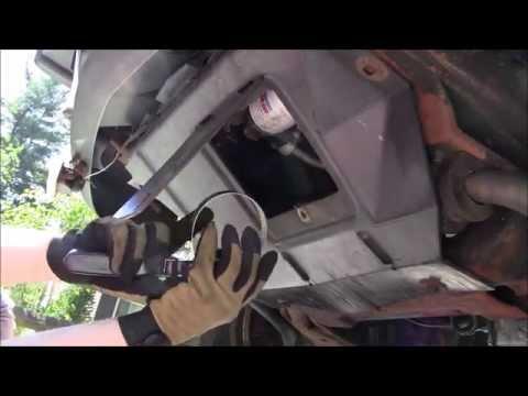 1997 Chevy Blazer 4.3L Oil Change