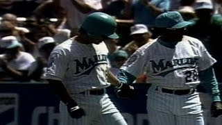 LAD@FLA: First hit in Marlins franchise history