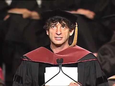 Video image: University of the Arts Commencement 2012 - Neil Gaiman