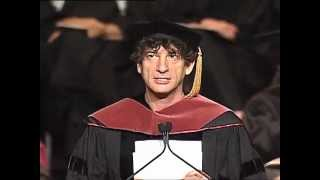 Neil Gaiman - Inspirational Commencement Speech at the University of the Arts 2012 thumbnail
