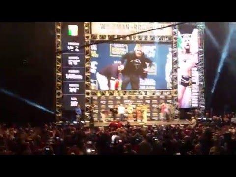 UFC 194 Weigh In - McGregor Vs Aldo