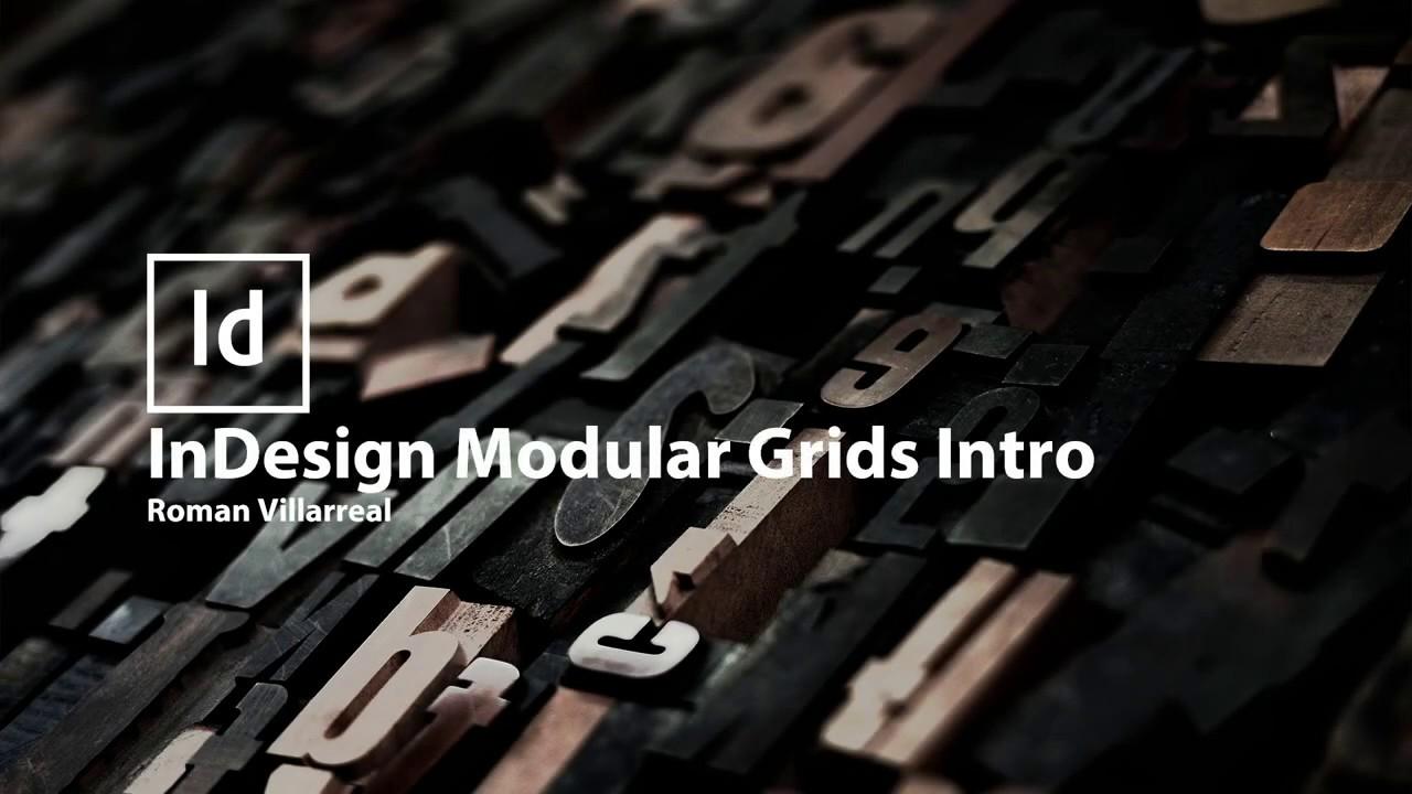 InDesign Modular Grids - An Introduction