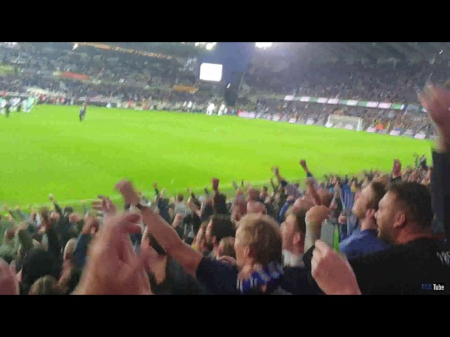 2019-2020 - Club Brugge-Anderlecht - Feestje Na De Overwinning