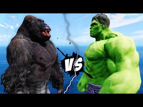 HULK VS KING KONG - EPIC BATTLE - Ruslar.Biz