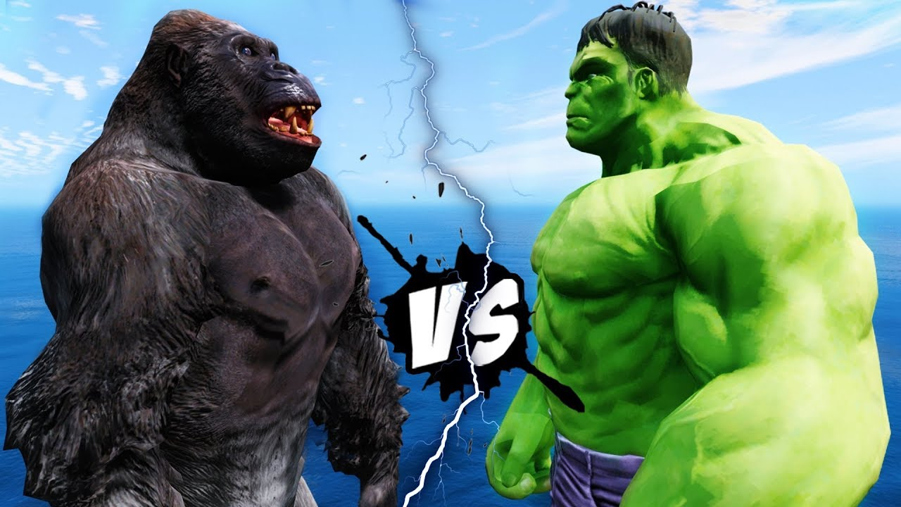 King Kong Vs Hulk Movie HULK VS KING KONG - EP...