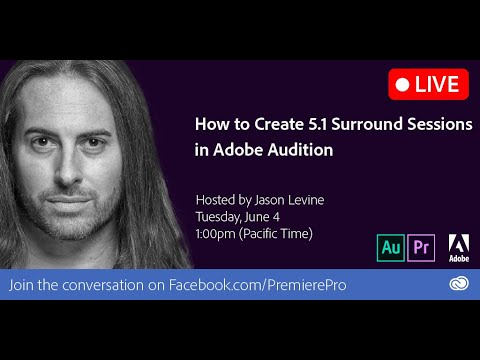 How to Setup 5.1 Surround Mixing in Adobe Audition