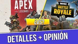 ¿APEX LEGENDS vs FORTNITE? | TODOS LOS DETALLES + OPINIÓN