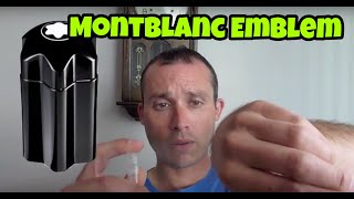 Mont Blanc Emblem fragrance/cologne review