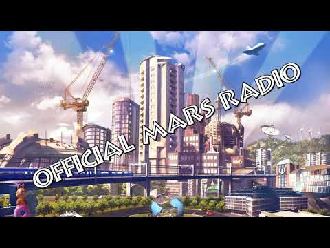 Cities Skylines Official Mars Radio WITH NEWSBREAKES ADVERTISING