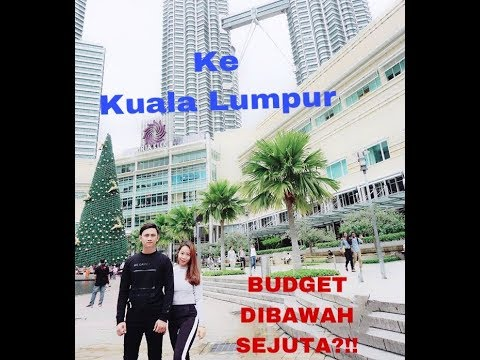 JALAN2 KE KUALA LUMPUR BUDGET DIBAWAH SEJUTA?!! I vlog trip to malaysia
