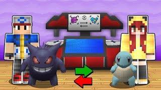Minecraft Pokémon #14: TROQUEI POKÉMON COM A CHERRY E CONSEGUI MEU PRIMEIRO MEGA!