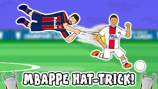 🔥MBAPPE vs BARCA!🔥 (Hat-Trick Barcelona 1-4 PSG Champions League 2021 Goals Highlights)