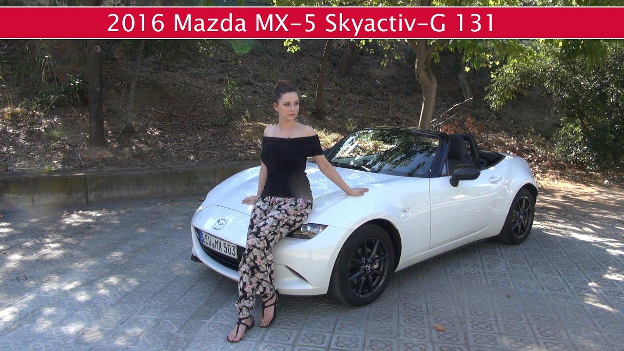 fahrbericht neuer mazda mx 5 skyactiv g 131 youtube. Black Bedroom Furniture Sets. Home Design Ideas