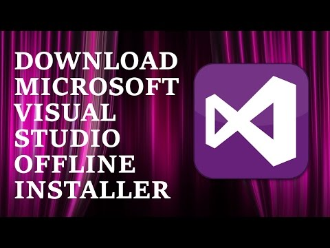 How to download Microsoft Visual Studio setup [Offline Installer] | HD