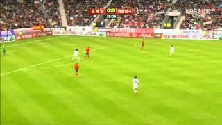 [대표팀] 6월 4일 대한민국 vs 스페인 전반전