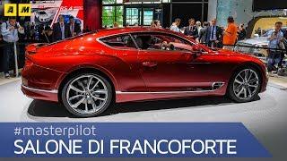 Bentley Continental GT 2017, la 3a serie ha il W12 da 635 CV. 0-100 in 3,7s e vmax 335 km/h [ENG]