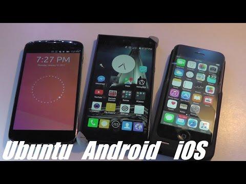 Comparison: Ubuntu Touch OS Vs. Android Vs. IOS (Apple)