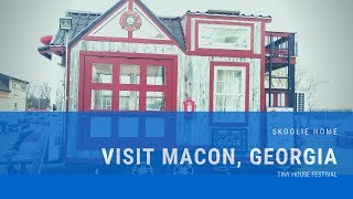 Macon, Georgia - Must See Attractions #skoolie #tinyhouse
