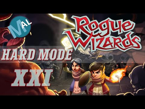 ROGUE WIZARDS | PART 21 | LEMURIA CAVES LVLs 3 & 4 | LET'S PLAY